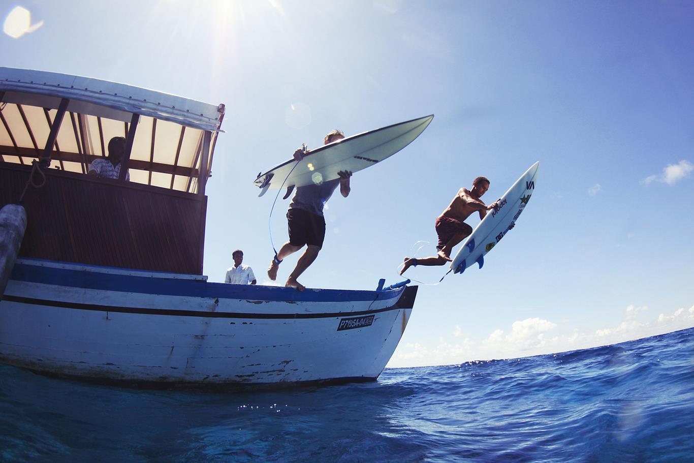 just surf villa jumping